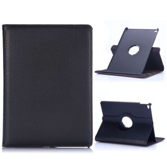 Etui iPad Air 2 Rotatif 360° Simili-cuir Noir