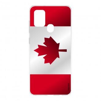 Coque pour Samsung Galaxy A21s Drapeau du Canada