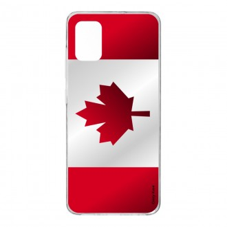 Coque pour Samsung Galaxy A41 Drapeau du Canada
