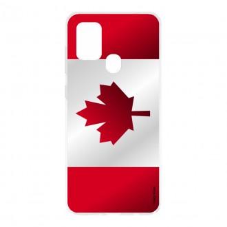 Coque pour Samsung Galaxy M31 Drapeau du Canada