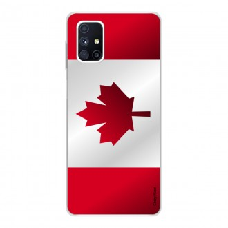 Coque pour Samsung Galaxy M51 Drapeau du Canada