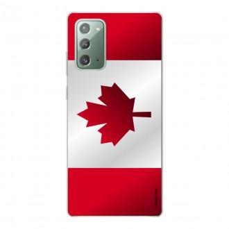 Coque pour Samsung Galaxy Note20 Drapeau du Canada