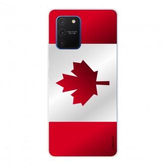 Coque pour Samsung Galaxy S10 Lite Drapeau du Canada