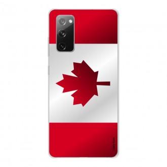 Coque pour Samsung Galaxy S20 FE Drapeau du Canada