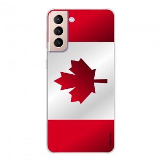 Coque pour Samsung Galaxy S21+ 5G Drapeau du Canada