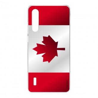 Coque pour Xiaomi Mi 9 Lite, Drapeau du Canada