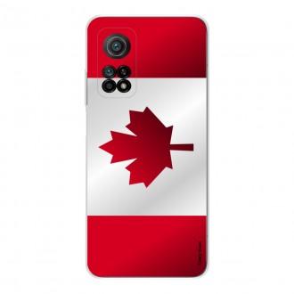 Coque pour Xiaomi Mi 10T Drapeau du Canada