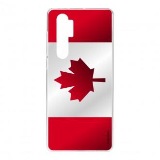 Coque pour Xiaomi Mi Note 10 Lite Drapeau du Canada