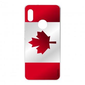 Coque pour Xiaomi Redmi Note 5 Drapeau du Canada