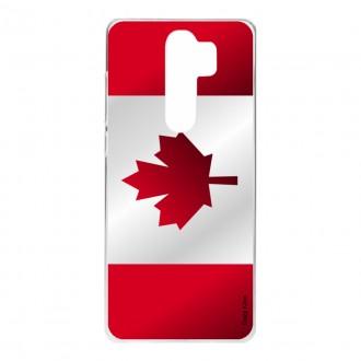 Coque pour Xiaomi Redmi Note 8 Pro Drapeau du Canada