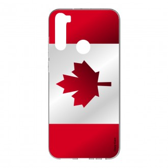 Coque pour Xiaomi Redmi Note 8 Drapeau du Canada