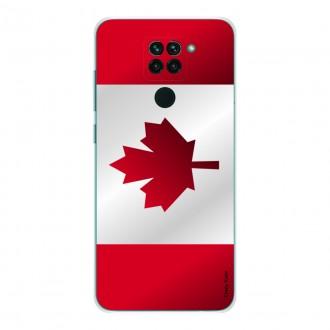 Coque pour Xiaomi Redmi Note 9 Drapeau du Canada