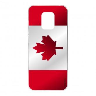 Coque pour Xiaomi Redmi Note 9S Drapeau du Canada