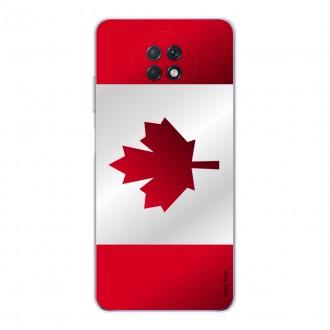 Coque pour Xiaomi Redmi Note 9T Drapeau du Canada
