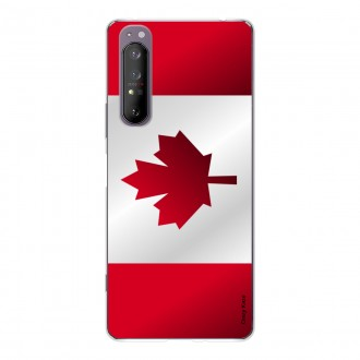 Coque pour Sony Xperia 1 II Drapeau du Canada