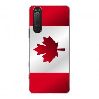 Coque pour Sony Xperia 5 II Drapeau du Canada