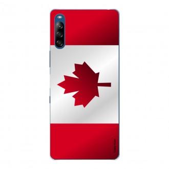 Coque pour Sony Xperia L4 Drapeau du Canada