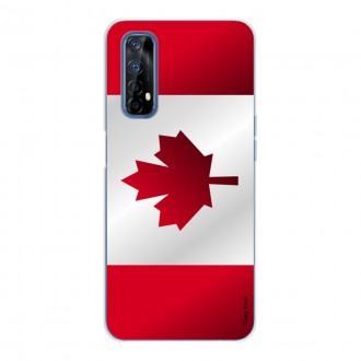 Coque pour realme 7 Drapeau du Canada