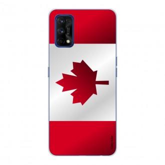 Coque pour realme 7 Pro Drapeau du Canada