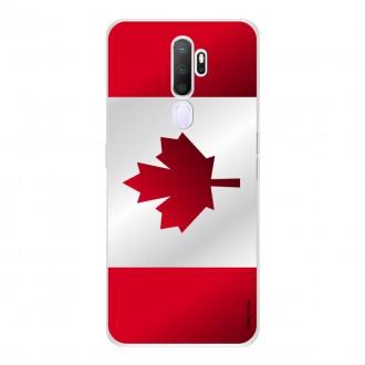 Coque pour Oppo A9 2020 Drapeau du Canada