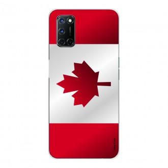Coque pour Oppo A72 Drapeau du Canada