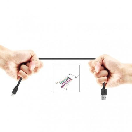 Câble USB vers Lightning Blanc 90cm