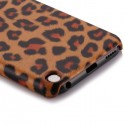 Coque plastique motif léopard orange pour Apple iPod Touch 5