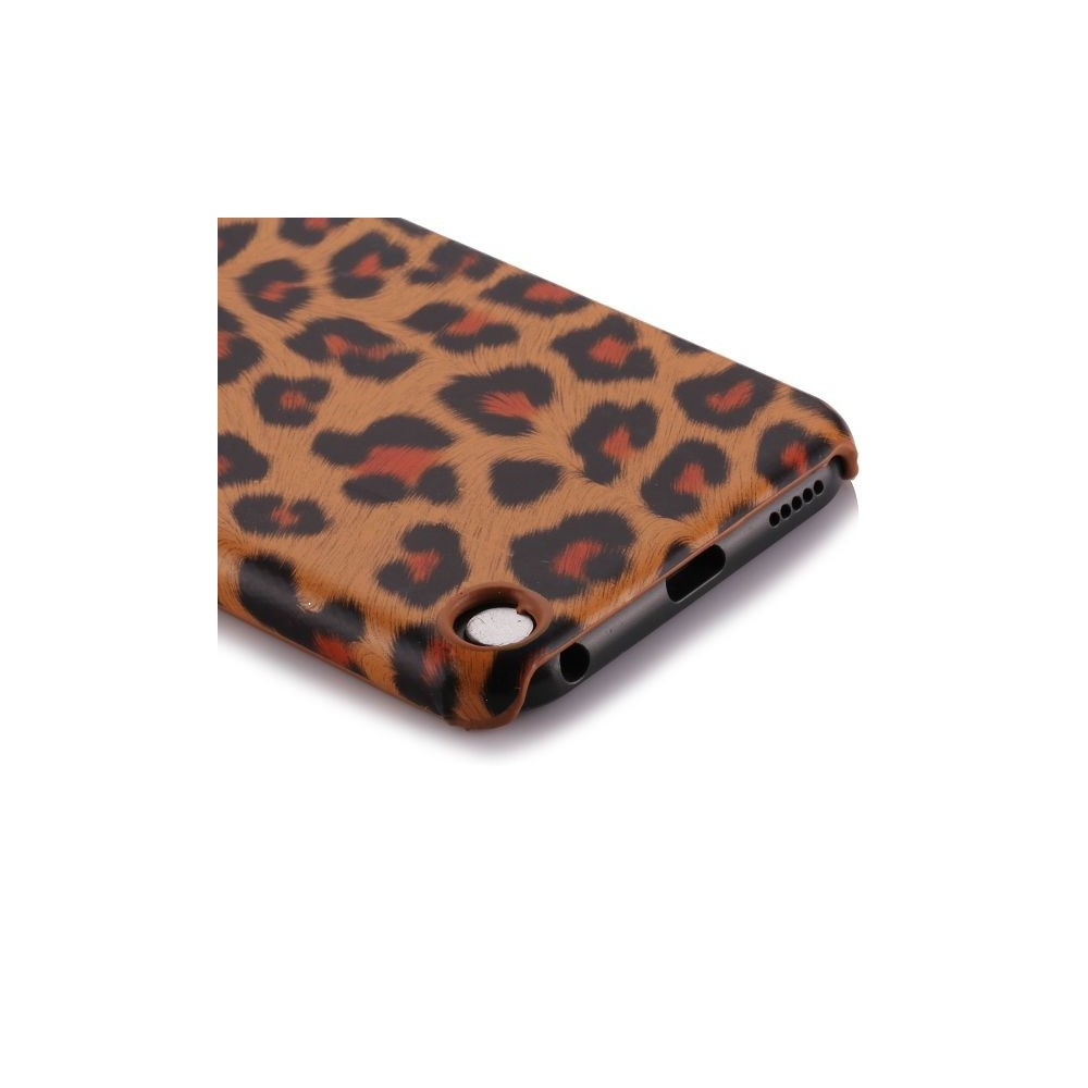 Coque plastique motif léopard orange pour Apple iPod Touch 5