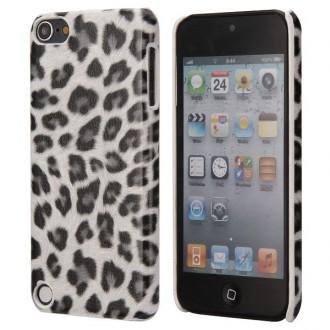 Coque iPod Touch 5 / Touch 6 Plastique motif léopard blanc et noir