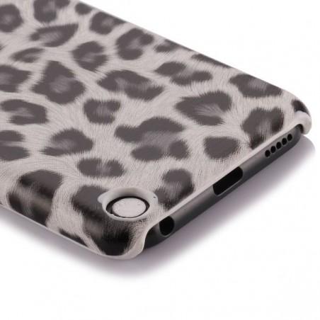 Coque plastique motif léopard blanc et noir pour Apple iPod Touch 5