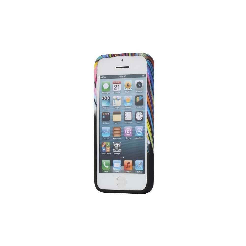 Coque iPhone 5C silicone motif météorite