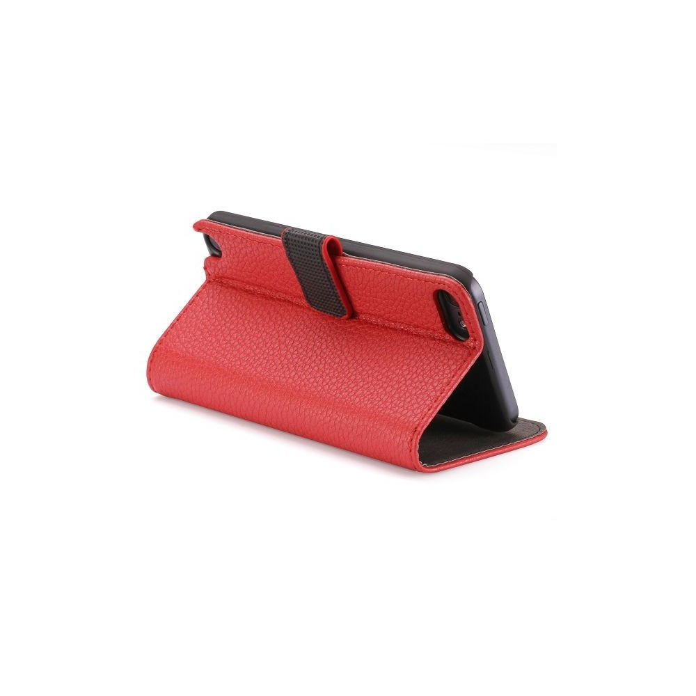 Etui iPod Touch 5 rouge ouverture horizontale support tv