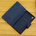 Etui porte carte Sony Xperia Z3 bleu et vert