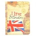 Etui Galaxy Tab 4 10.1 Rotatif 360° I Love London
