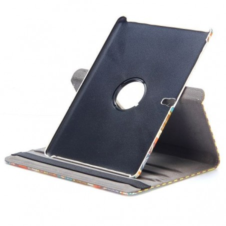 Etui Galaxy Tab S 10.5 Rotatif 360° Motif tribal