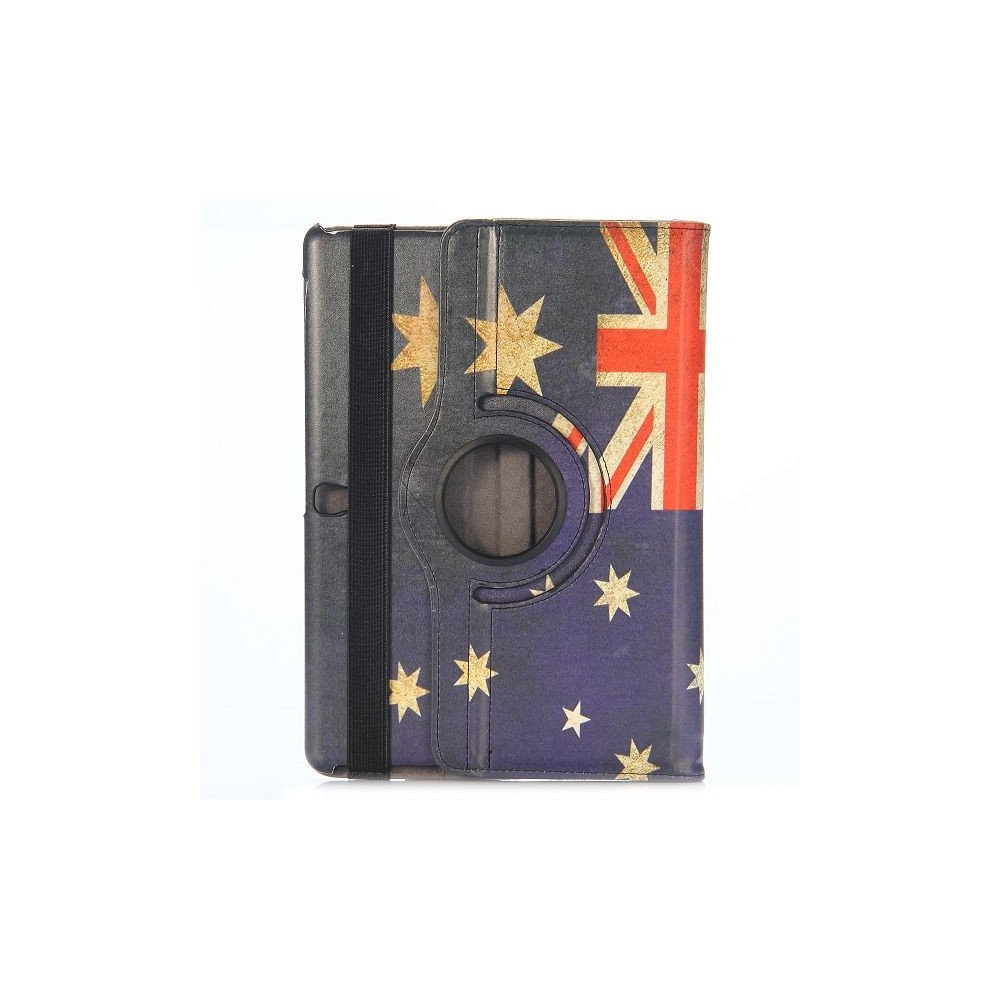 Etui Galaxy Tab S 10.5 Rotatif 360° Drapeau Australien