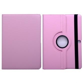 Etui Galaxy Tab S 10.5 Rotatif 360° Simili-cuir Rose