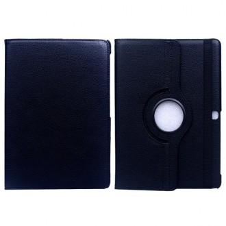 Etui Galaxy Tab S 10.5 Rotatif 360° Simili-cuir Noir