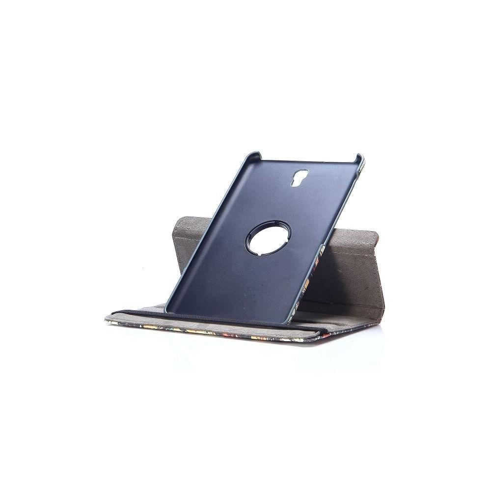 Etui Galaxy Tab S 8.4 Rotatif 360° Motif Sous-Bois