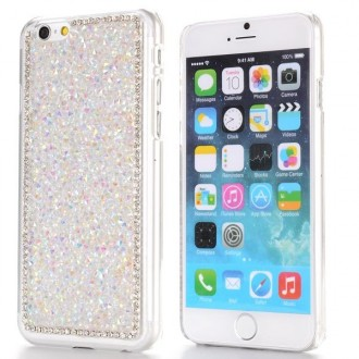 Coque iPhone 6 strass Blanc