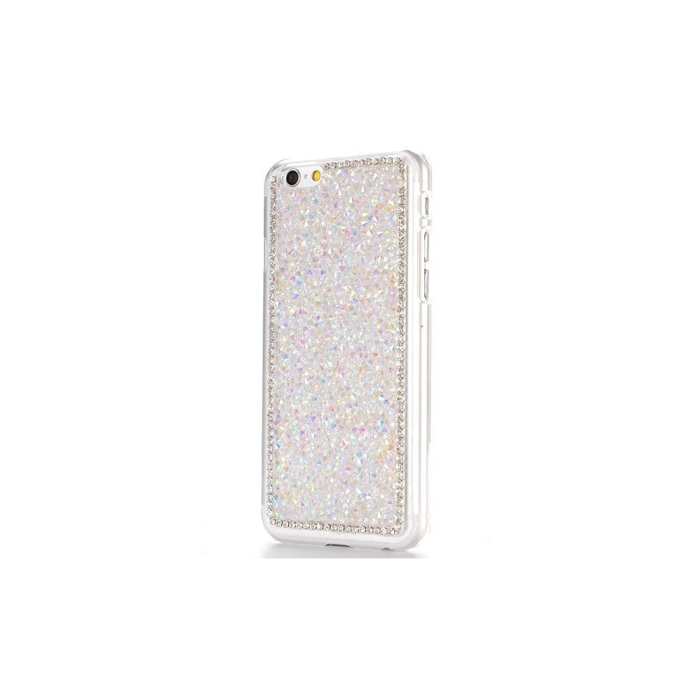 Coque iPhone 6 strass Blanc