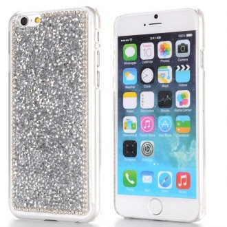 Coque iPhone 6 strass argentés
