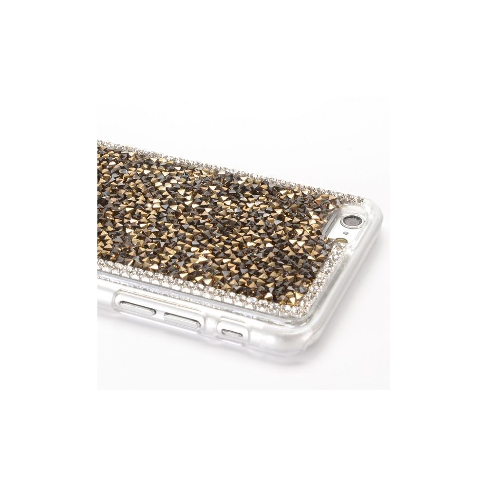 Coque iPhone 6 strass Couleur Or