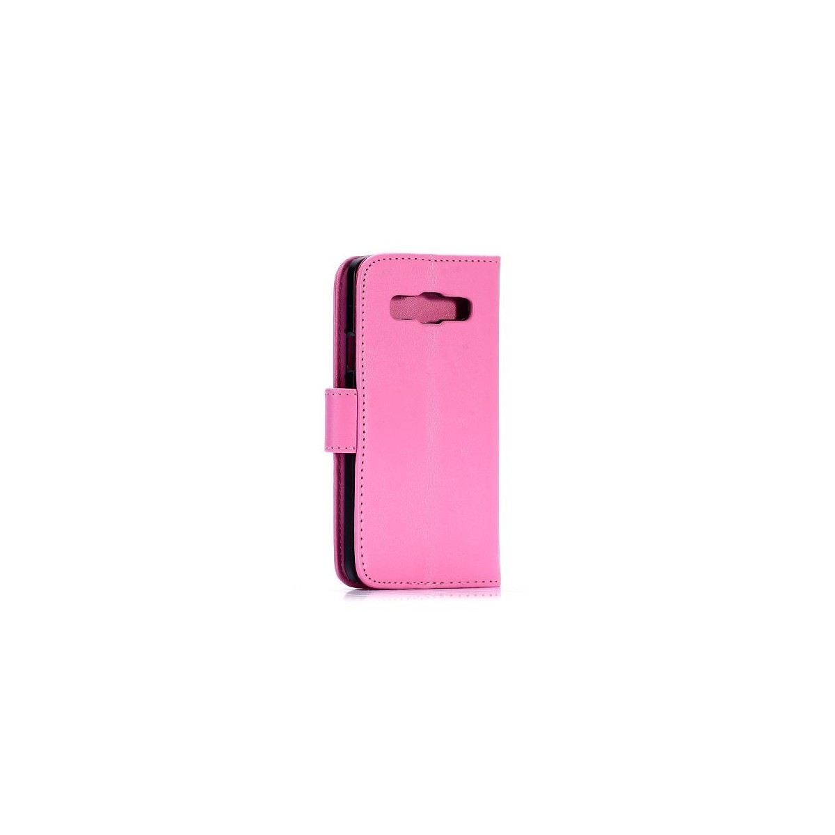 Etui Galaxy A3 Simili-cuir Rose