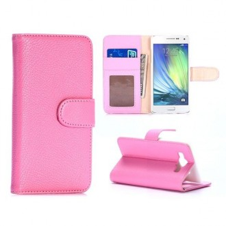 Etui Galaxy A5 Simili-cuir Rose