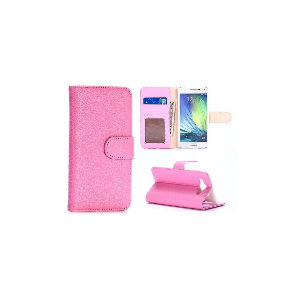 Etui Galaxy A5 Simili-cuir Rose