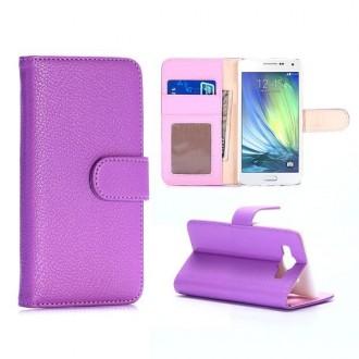 Etui Galaxy A5 Simili-cuir Violet