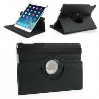 Etui iPad Air Rotatif 360° Simili-cuir Noir