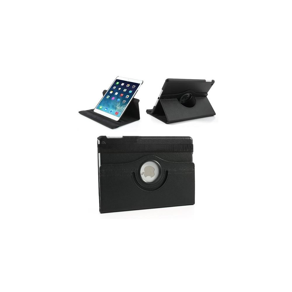Etui iPad Air Rotatif 360° Simili-cuir Noir