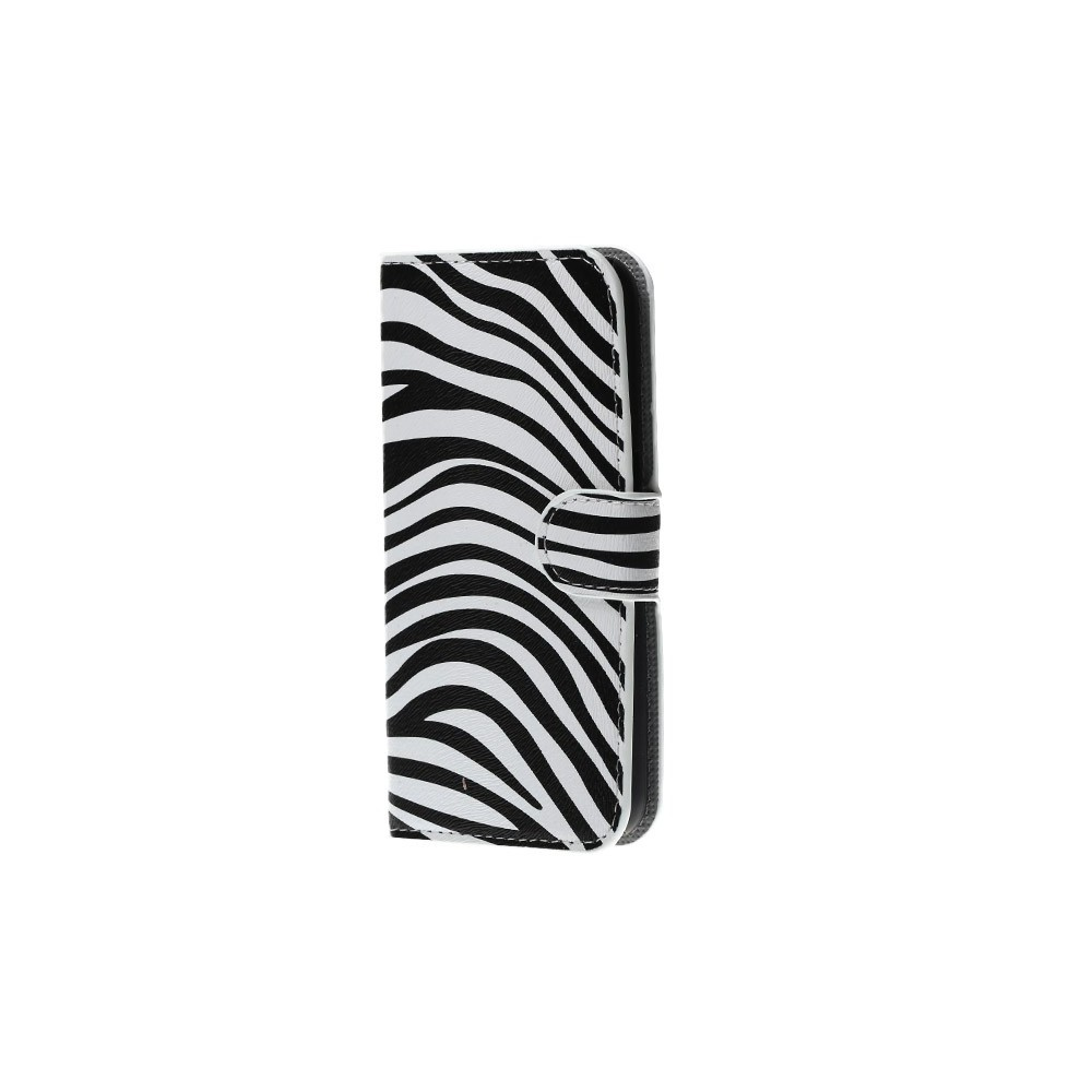 Etui Galaxy S6 motif Zèbre